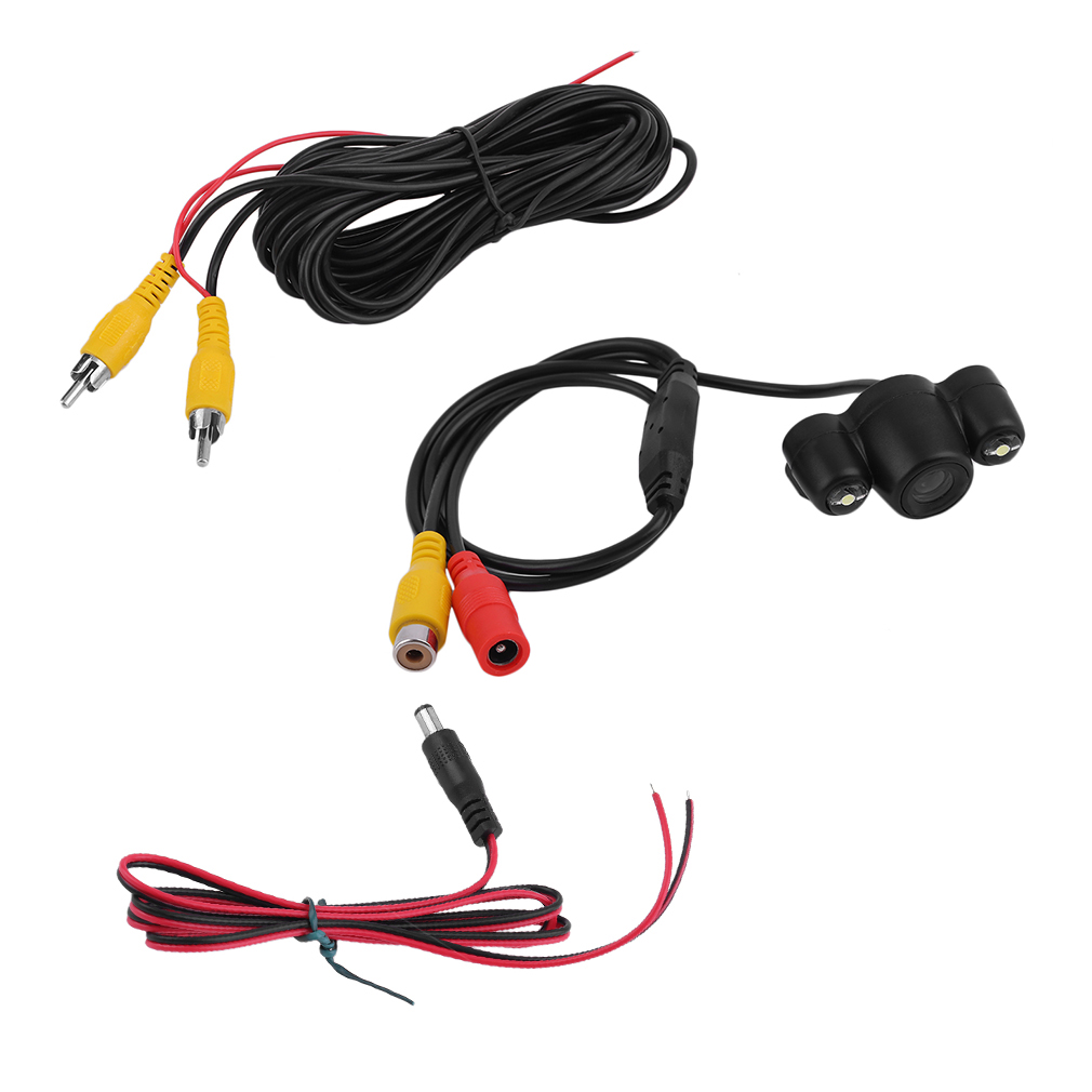 HD Car Rear View Reverse Camera Automatically Waterproof LED Night Vision