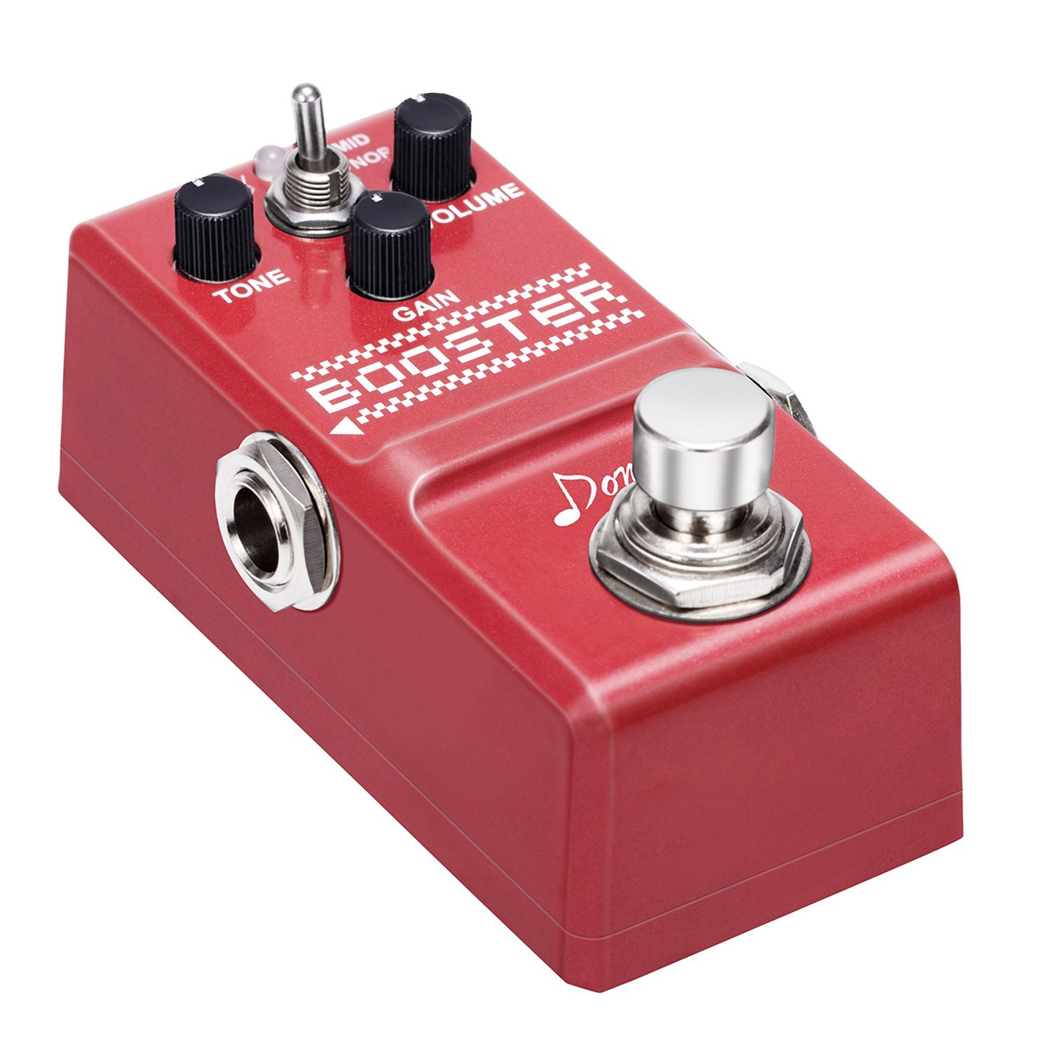 Donner Booster Boost Guitar Effect Pedal Super Mini Pedal