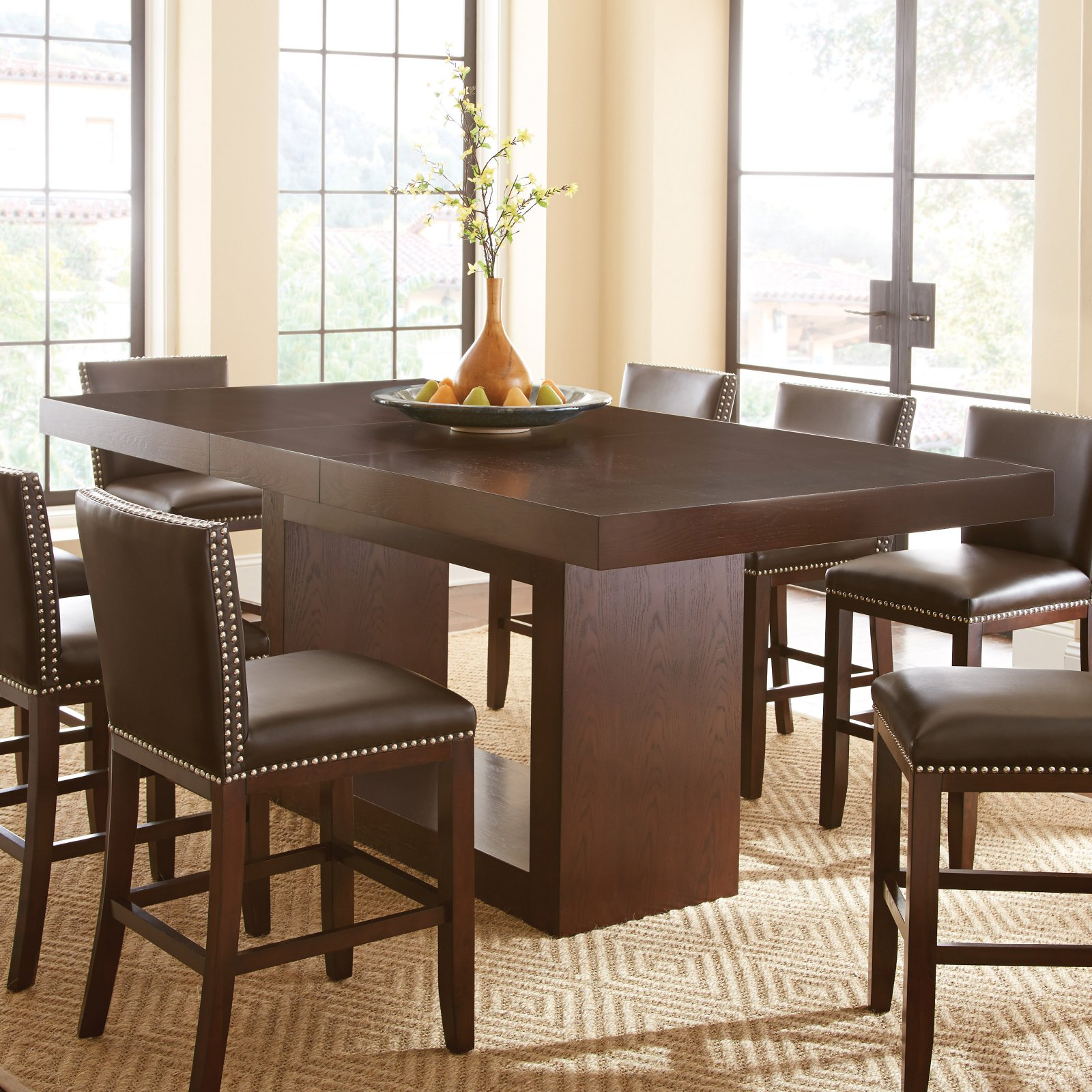 Steve Silver Antonio Counter Height Dining Table