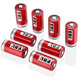 - EBL 16340 Li-ion Rechargeable Batteries CR123A 750mAh 3.7V for LED Flashlight Torch, 8 Packs