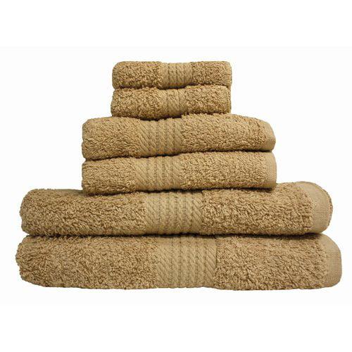 J & M Home Fashions Provence 6 Piece Bath Towel Set by J & M Home Fashions