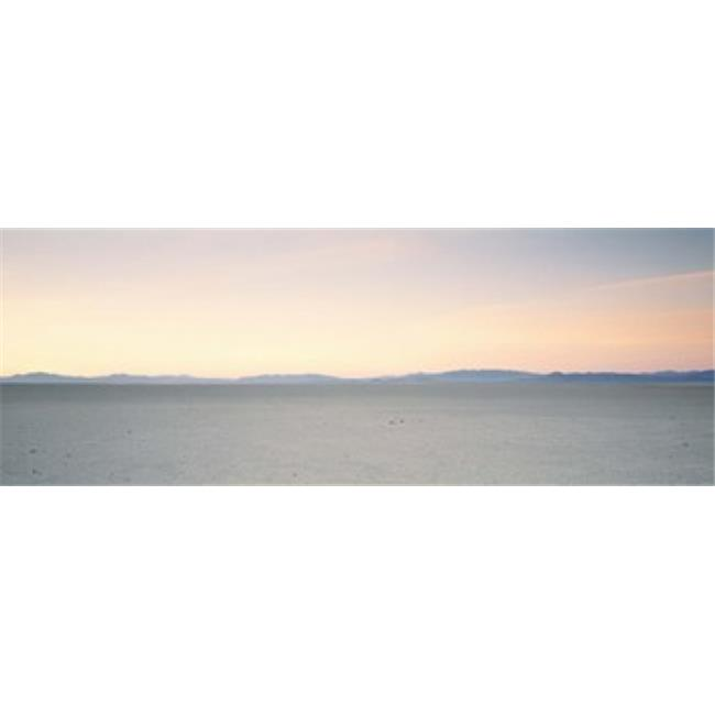 Panoramic Images PPI43047L Desert at sunrise  Black Rock Desert  Gerlach  Nevada  USA Poster Print by Panoramic Images - 36 x 12 - image 1 of 1