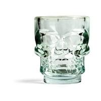Kikkerland Skull Shot Glasses (Set of 4) by Kikkerland
