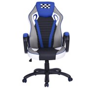 HouseinBox Gaming Chair Racing Computer Task Adjustable Executive Swivel Desk Chair, Red