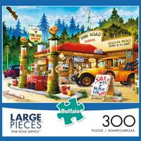 Buffalo Games - Large Piece - Pine Road Service - 300 piece jigsaw puzzle