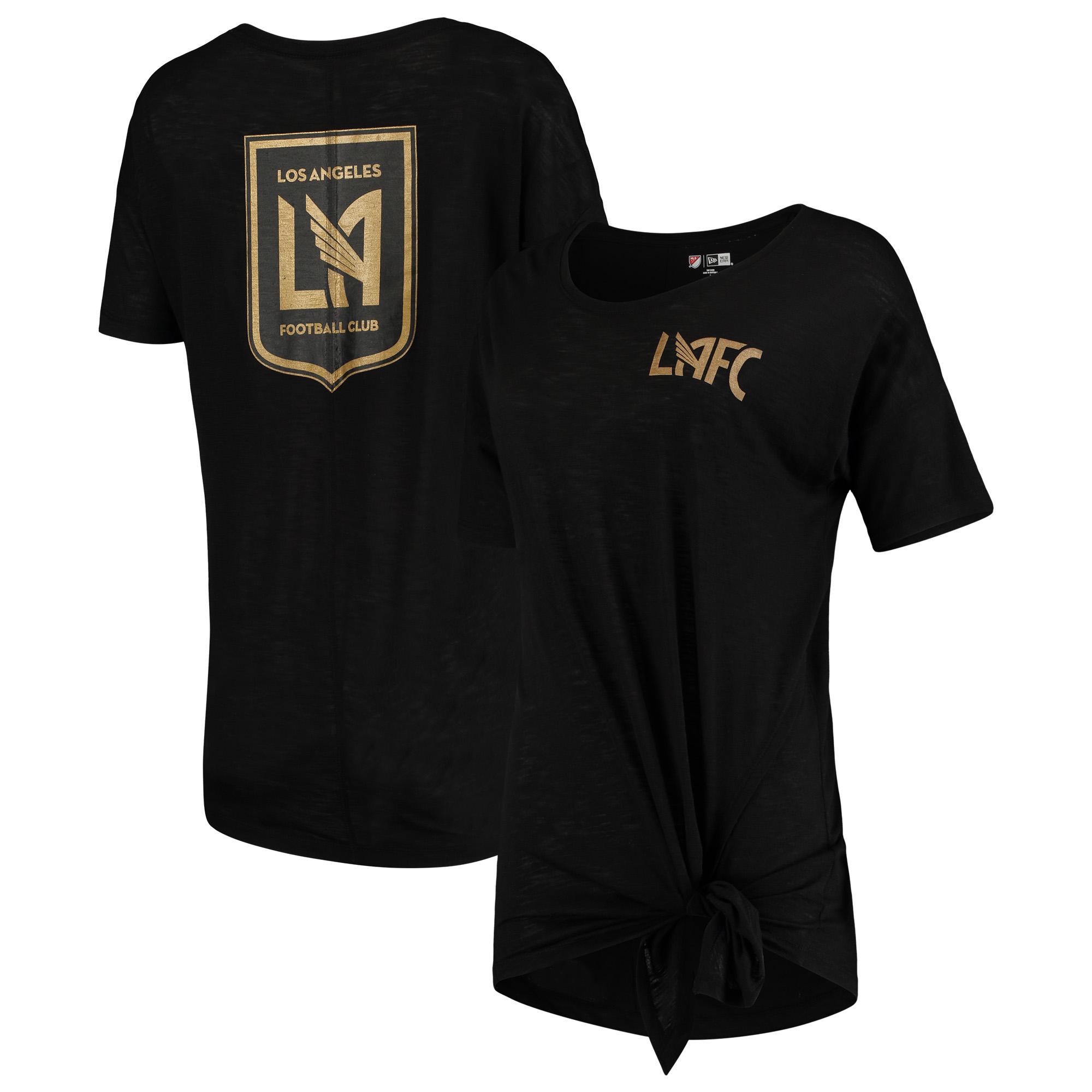 LAFC 5th & Ocean by New Era Women's Slub T-Shirt - Black