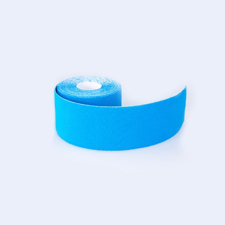 1 Roll 5m x 5cm Kinesiology Sports Muscles Care Elastic Physio Therapeutic Tape, Blue - Walmart.com