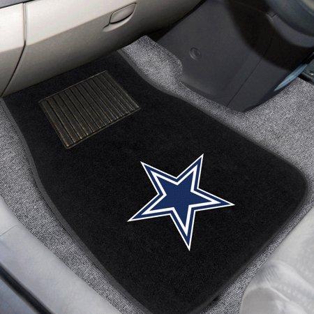 Dallas Cowboys 2-Piece Embroidered Car Mat Set - No Size