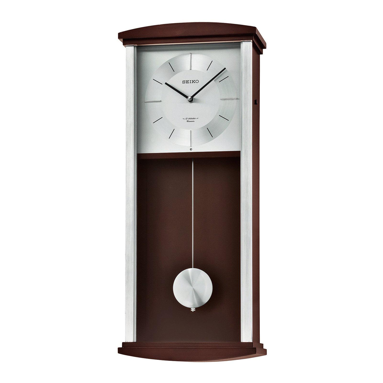 Seiko Rothesay Wall Clock With Pendulum