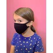 Kids Toddler Soft Cotton Face Covering Mask Washable Reusable for Kids 6-12 years  - Made In USA