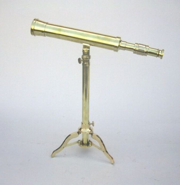 India Overseas Trading BR4856 - Telescope, Brass Stand