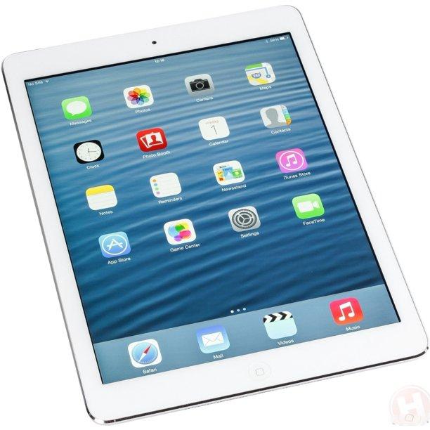 Apple iPad Air 128GB Wifi Silver ME906E/A - Walmart.com ...