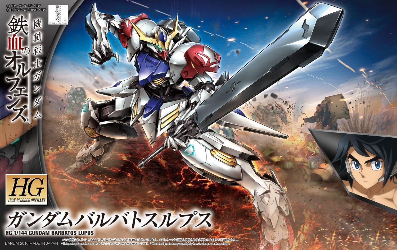 Bandai Hobby Gundam IBO Gundam Barbatos Lupus HG 1 144 Scale Model Kit by Bandai Hobby