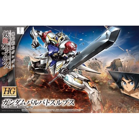 Bandai Hobby Gundam IBO Gundam Barbatos Lupus HG 1/144 Scale Model Kit (Deluxe Model Hobby)