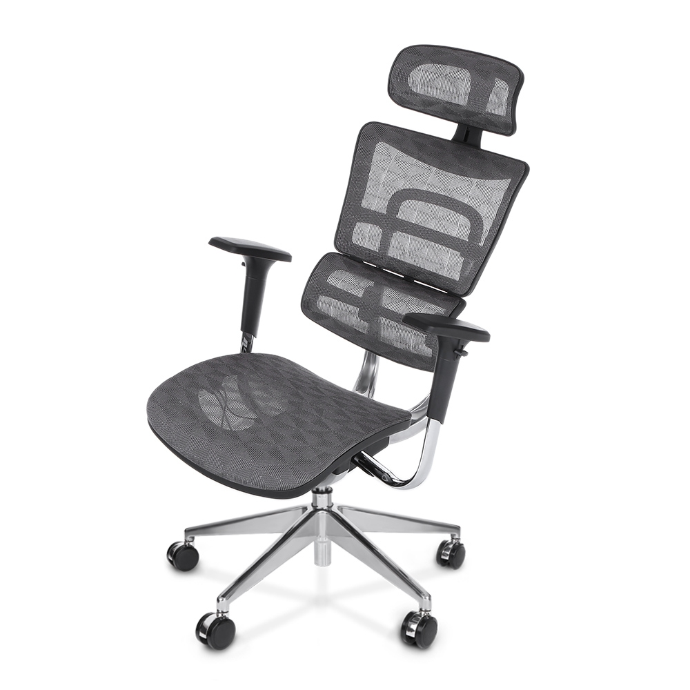 ikayaa multi-function adjustable mesh ergonomic office chair