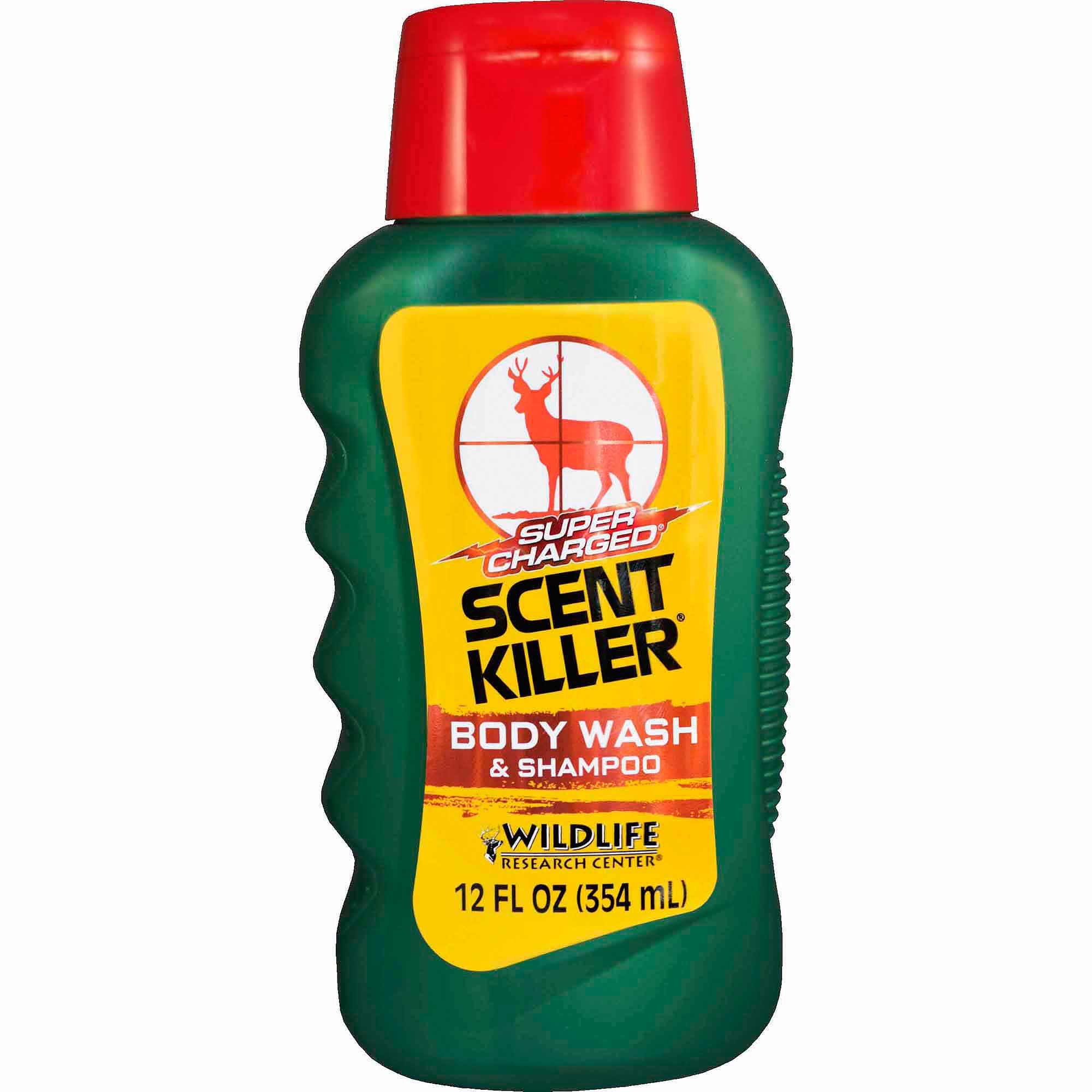 Wildlife Research Center Super Charged Scent Killer Body Wash and Shampoo, 12 fl oz
