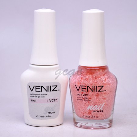 Veniiz Match UV Gel Polish V037 Gigi Glitter](Glitter Gel)