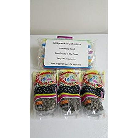 Boba Tapioca Pearls (Collection Includes Three BOBA (Black) Tapioca Pearl