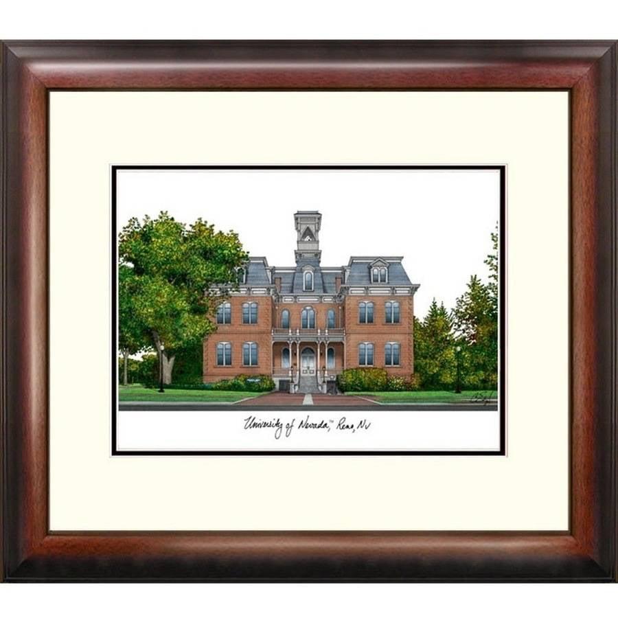University of Nevada Alumnus Framed Lithograph