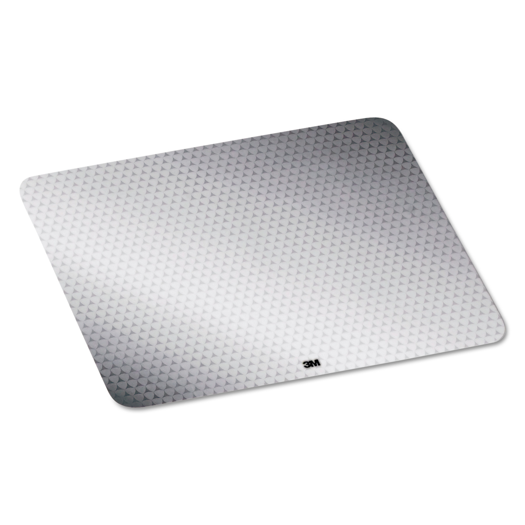 3M Precise Mouse Pad, Nonskid Repositionable Adhesive Back, Gray Frostbyte