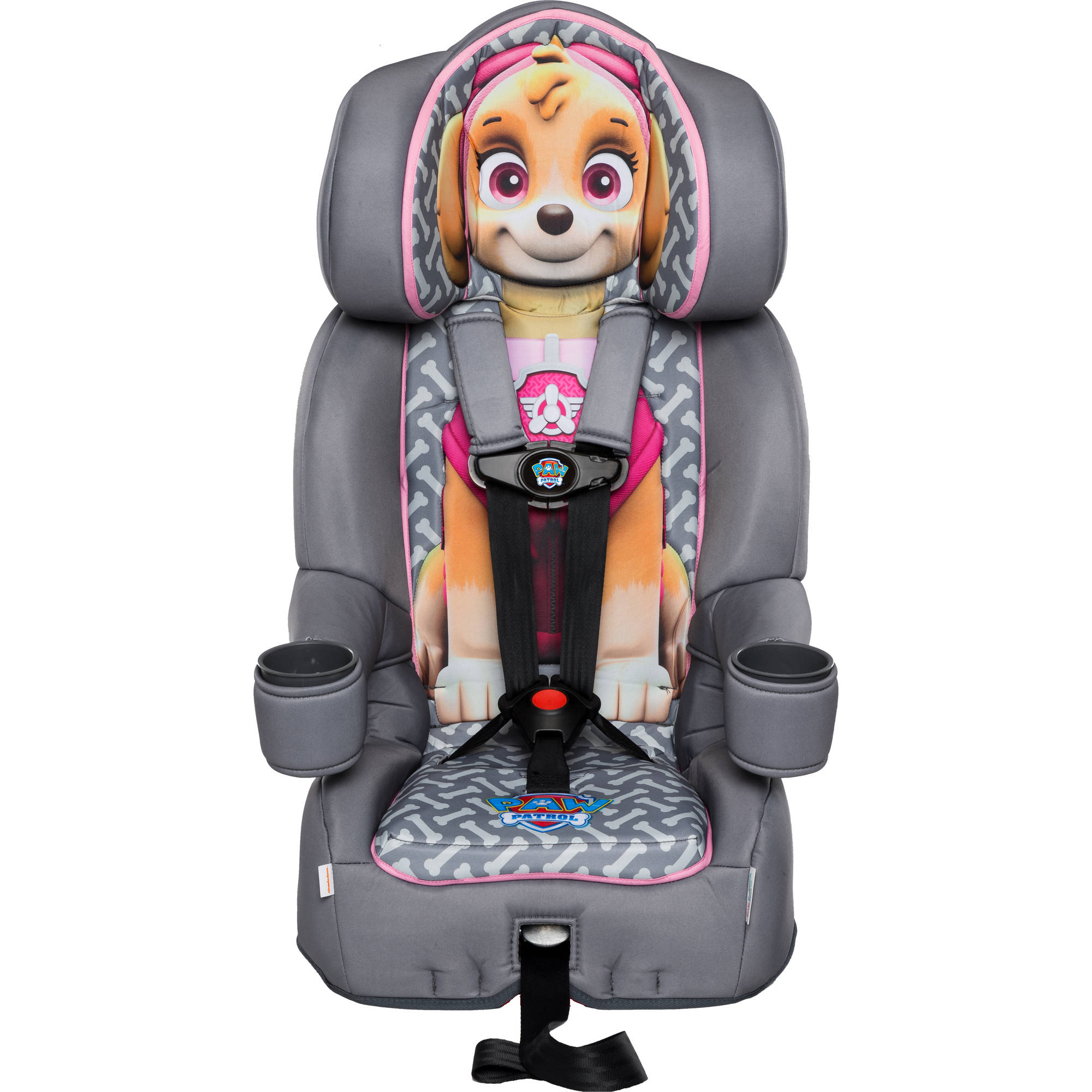 Nickelodeon KidsEmbrace Combination Toddler Harness Booster Car Seat, Paw Patrol Skye