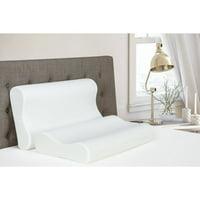 Signature Sleep Contour Memory Foam Pillow, Multiple Sizes