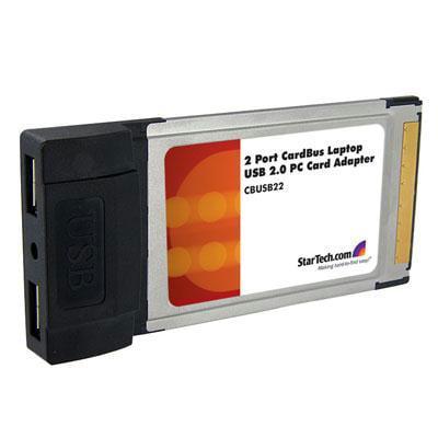 Startech 2x Cardbus USB Card Adapter