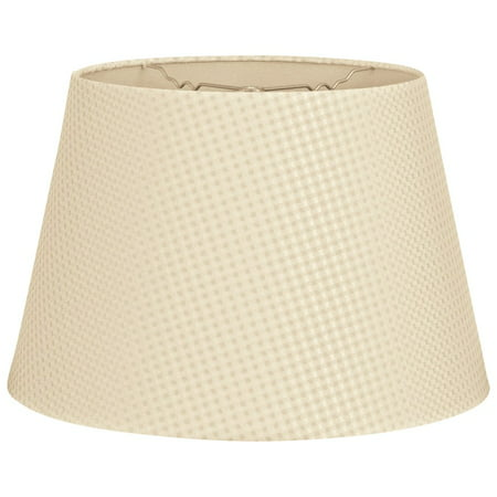 royal designs 16 tapered shallow drum hardback lamp shade beige cream. Black Bedroom Furniture Sets. Home Design Ideas