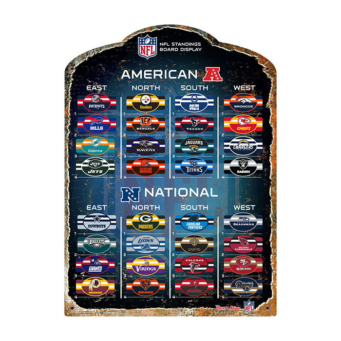 Official NFL Magnetic Standings Board by Party Animal 174014