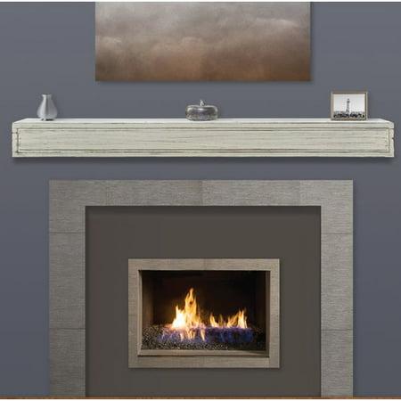 Pearl Mantels Sarah Fireplace Shelf Mantel](Decorate Fireplace Mantel Halloween)
