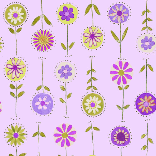 Cranston VIP Fabrics Boutique StemMedium Floral Fabric