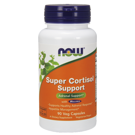 Now Super Cortisol Support Vegetable Capsules  90 Ct