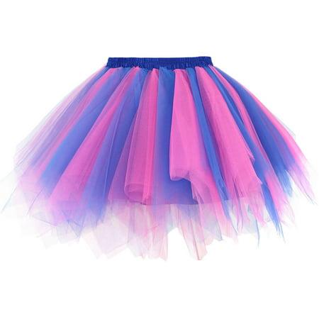 Women's 50s Vintage Ballet Bubble Tutu Skirt - Tutu Rose Halloween
