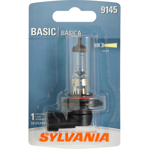Sylvania 9145/H10 Basic Fog Bulb, Contains 1 Bulb