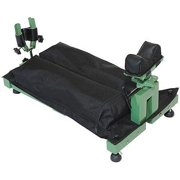 Allen Recoil Reducer Bench Rest and Vise, Green/Black