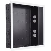Chief Large In-Wall Storage Box PAC526FWP4 - Storage box for audio/video components - black with white - in-wall mounted