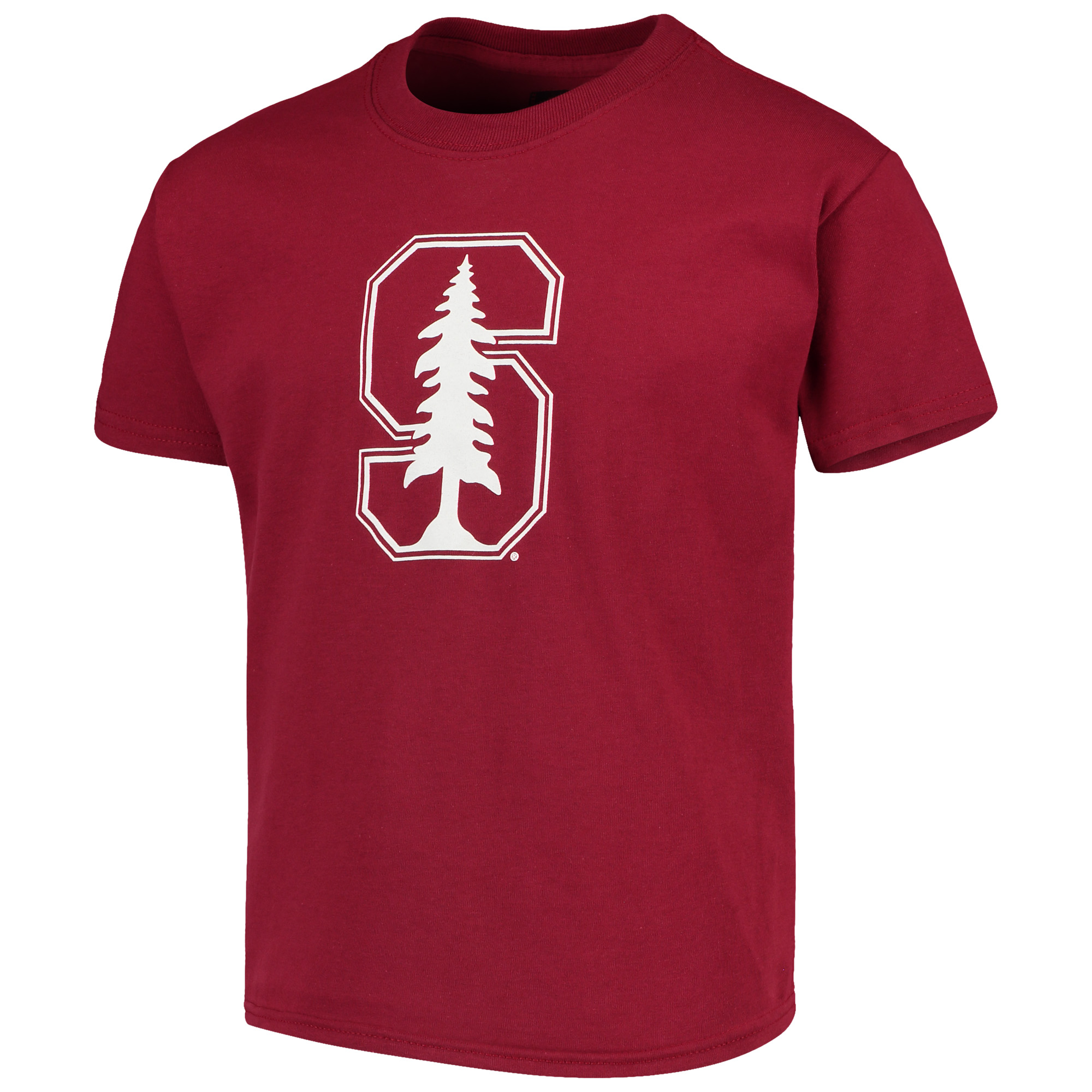 Stanford Cardinal Russell Youth Oversized Graphic Crew Neck T-Shirt - Cardinal