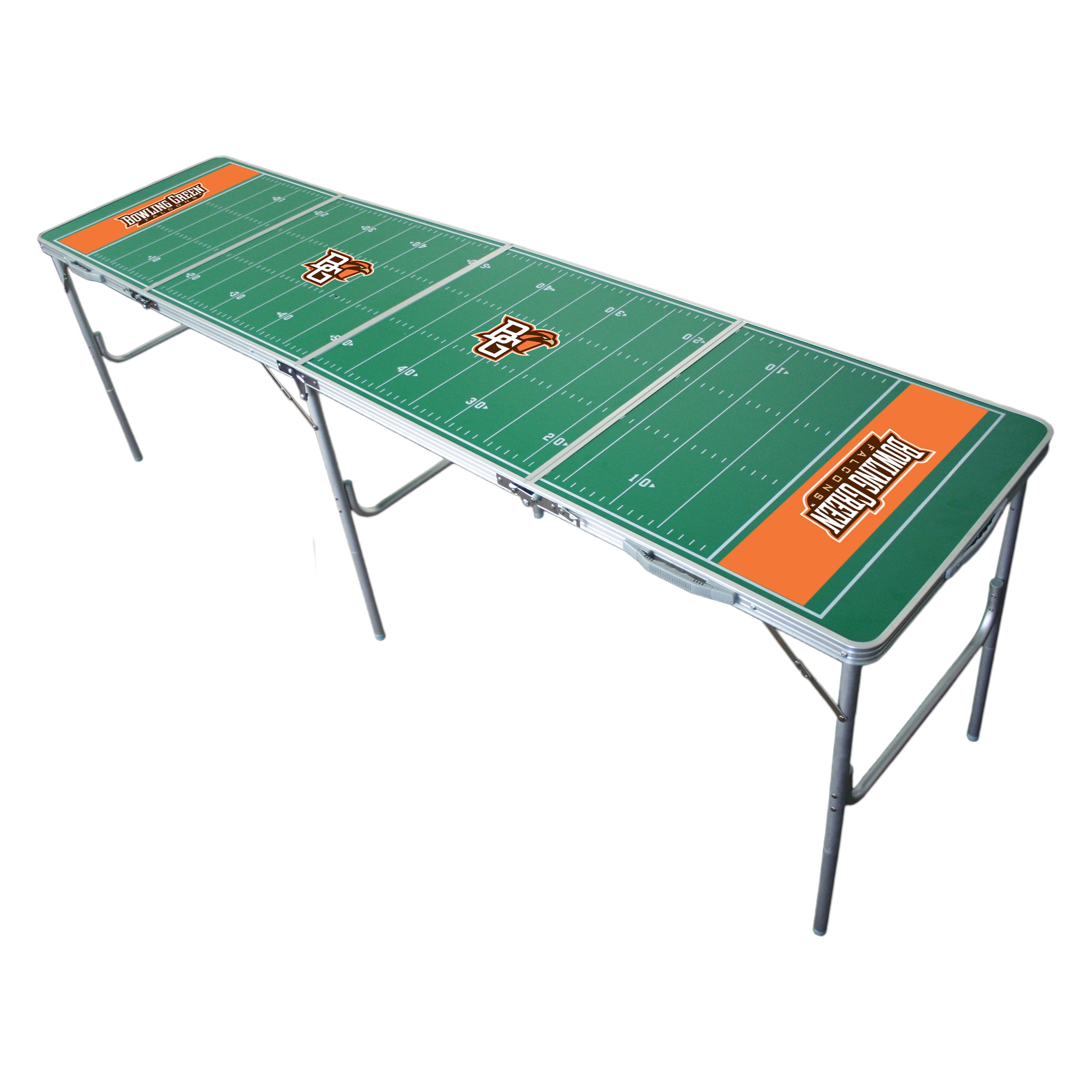 Wild Sales Wild Sports NCAA 2 x 8 Tailgate Pong Table