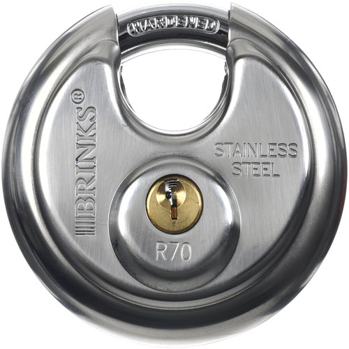 Brinks 70mm Discus Padlock