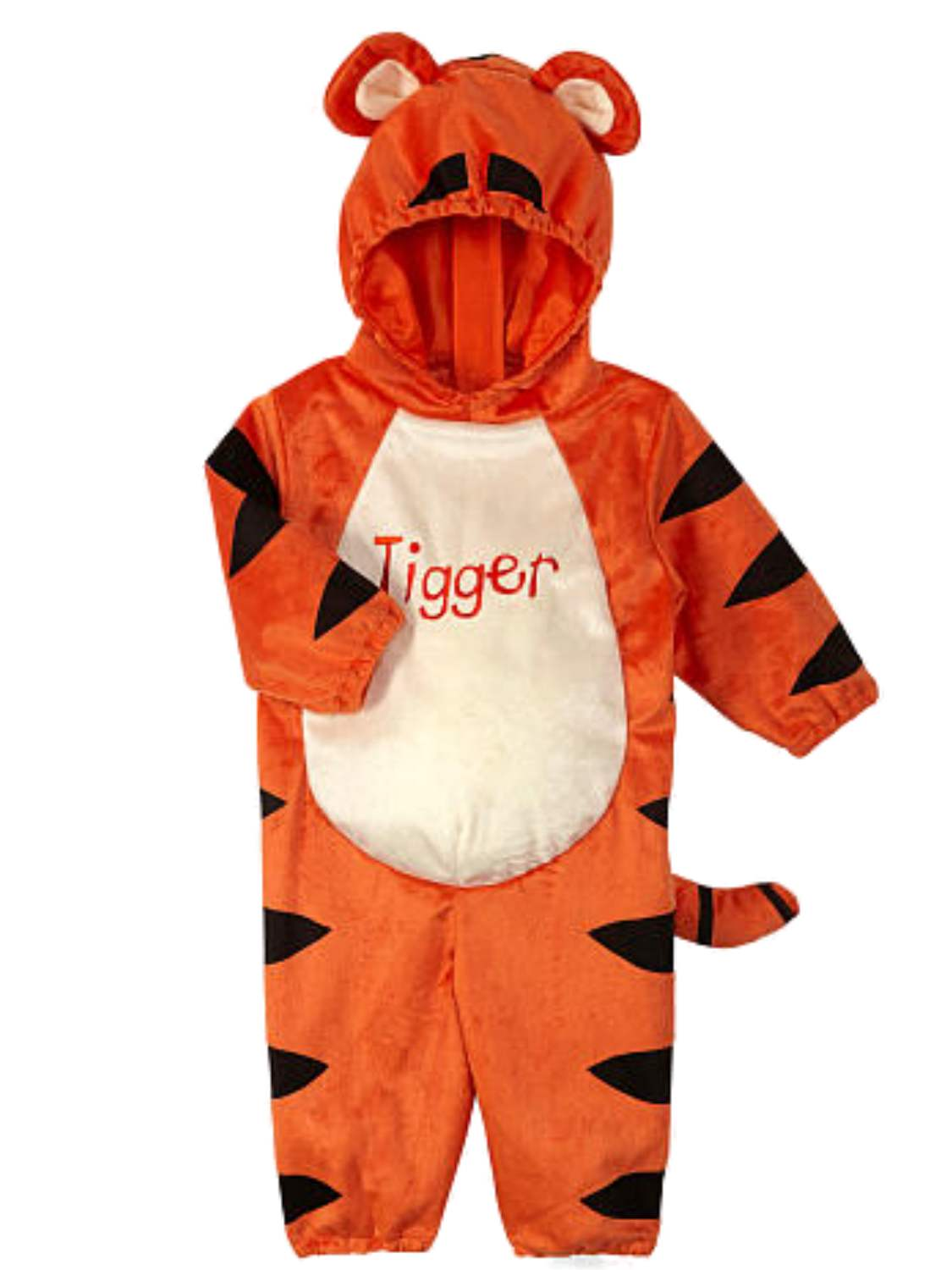 Disney Winnie the Pooh Infant Boys Girls Plush Baby Tigger Jumpsuit Costume by
