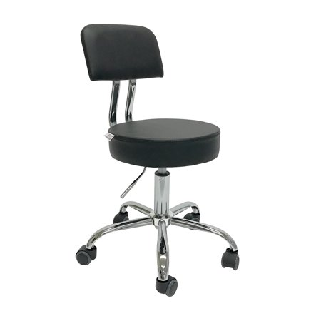 Apontus Stool Salon Spa Tattoo Equipment Medical Chair Facial Beauty with Back Support