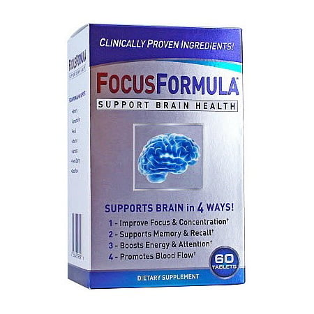 Windmill Health Products Focusformula Brain Health Support Tablets  60 Ct