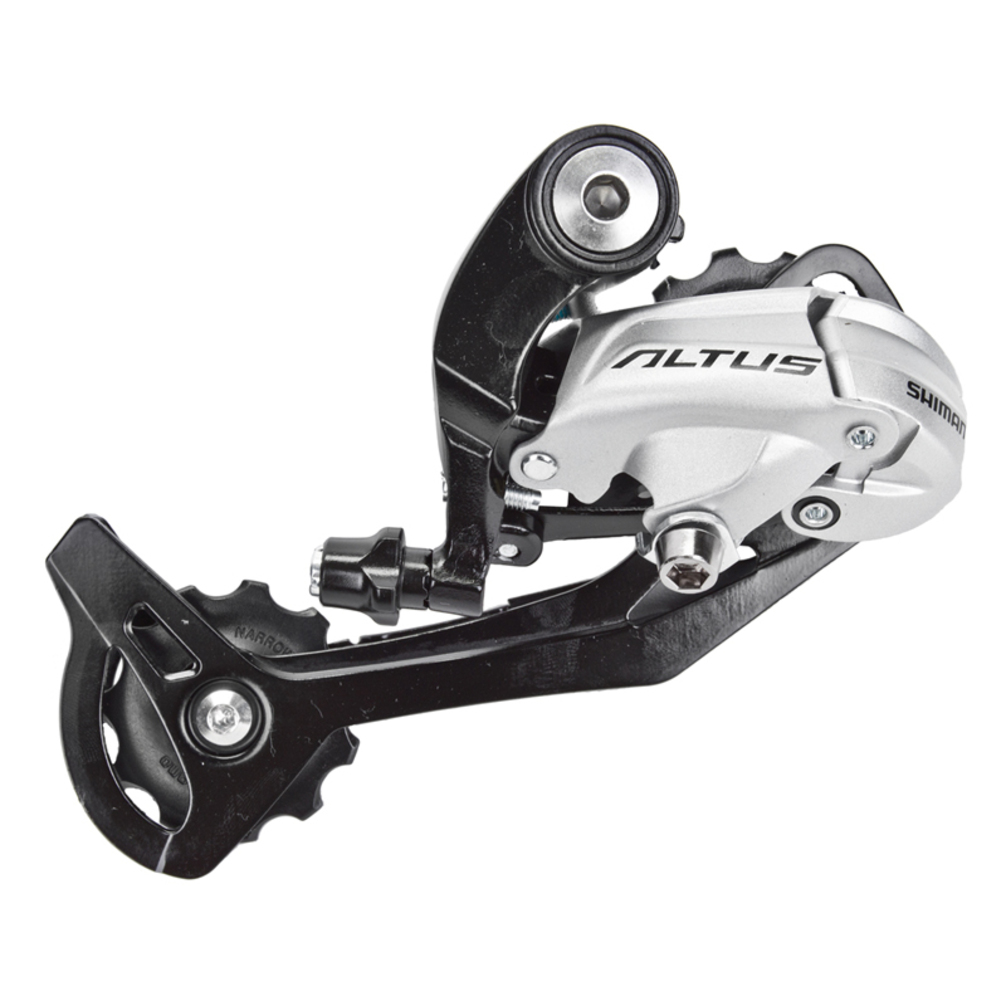 Shimano Altus M370-SGS 9-Speed Long Cage Rear Derailleur Black