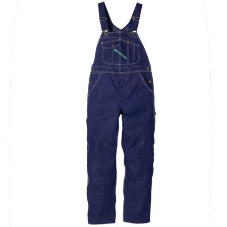 - Key Bib Overalls Hi-Back Zip Fly 34x36
