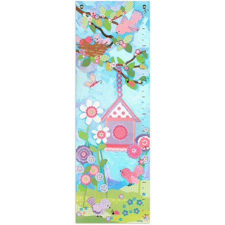 Oopsy Daisy Too Aqua Flower Growth Chart Star Girl Growth Chart