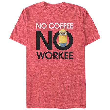 Despicable Me Men's Minion No Coffee T-Shirt](Vector From Despicable Me)