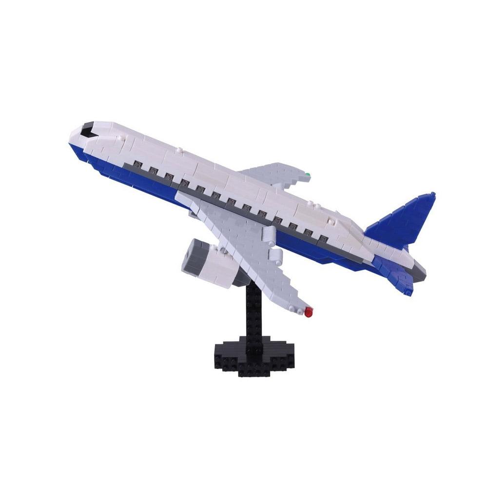 Nanoblock Airliner Building Kit 3D Puzzle by nanoblock