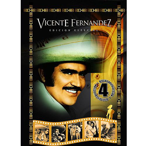 Vicente Fernandez Edicion Especial (4 Discos De Coleccion) (Full Frame)