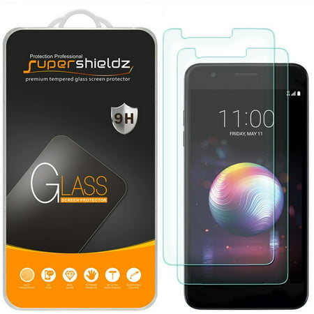 [2-Pack] Supershieldz for LG K30  Tempered Glass Screen Protector, Anti-Scratch, Anti-Fingerprint, Bubble (Best Glass Screen Protector For Lg G2)