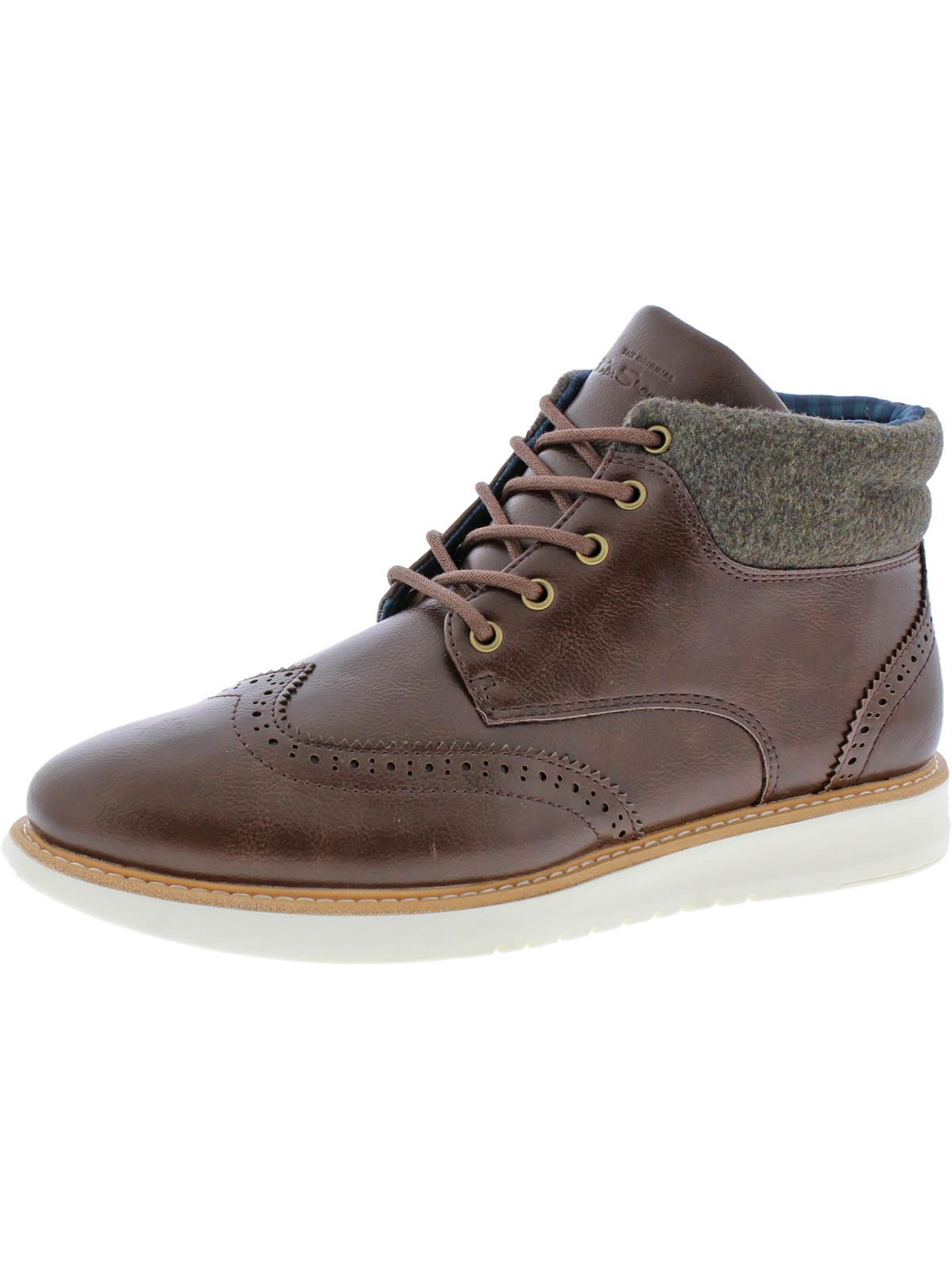 Ben Sherman Mens Nu Casual Wingtip Oxford